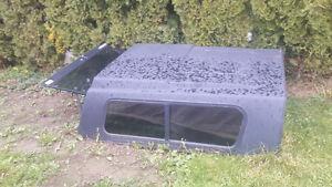 Small truck canopy