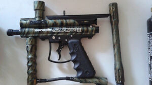 Genesis Surge Paintball Gun and Accessories
