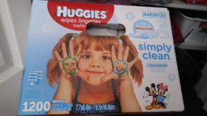 Lingettes Huggies