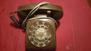 Old working Bell rotary phone
