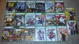 Selling 20 Xbox 360 Games!