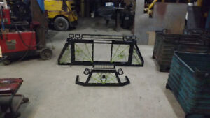 Custom fab back racks, push bars, tool boxes, hitches etc
