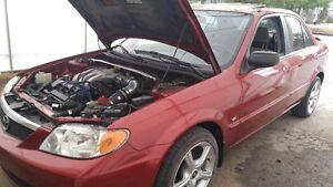 Mazda protégé V6 KL