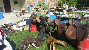 YARD SALE SEPT 17 More saddles and horse equipment added plus
