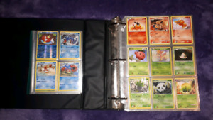 Large binder of Pokemon cards