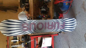 Furious firefly snowboard for sale used one winter