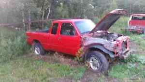 Parts ford rangers