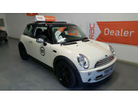 2005 MINI COOPER 1.6cc - HALF LEATHER SEATS - ELECTRIC PANORAMIC ROOF