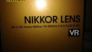 Objectif Nikkor 70-300mm VR