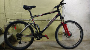 Trek fuel full suspension mountain bike