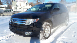 Ford Edge Sel Winter Tires Remote Start Two Dvd Players