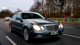 Mercedes E320 CDI e class SPORT G TRONIC rev cam