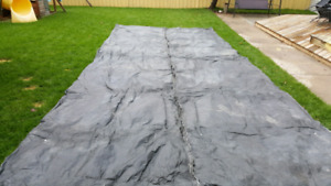 Concrete thermal blanket