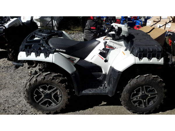 Used 2014 Polaris 2014 850xp eps pearl white le