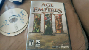 Age of empires disk collection