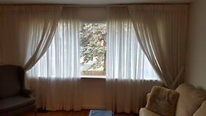 Curtains and hardware