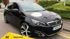 2016 Peugeot 308 2.0 BlueHDi 150 GT Line 5dr Manual Diesel Hatchback