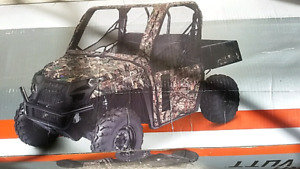 NEW IN BOX UTV CAMO CAB ENCLOSURE