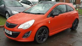 Vauxhall Corsa 1.2 LIMITED EDITION 85PS (red) 2011