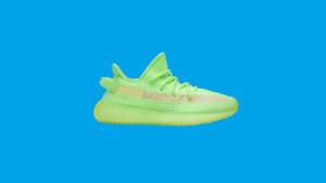 Size 8.5 adidas Yeezy Boost 350 V2 Glow in the Dark