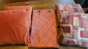 Curtains & Accent Pillows
