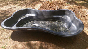 LANDSCAPING POND OR WADING POOL AND PUMP INCLUDED!