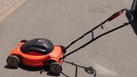 Electric lawn mower LawnHog Black&Decker in very good condition
