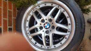 OEM BMW Rims and Michelin Tires