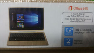 New Unopened Venturer 2 in 1 Laptop / Tablet