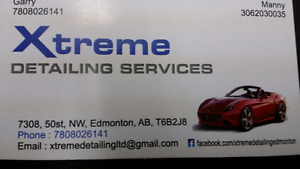 Xtreme Detailing and tinting services edmonton
