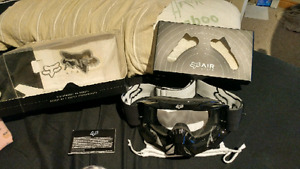 Never used Air Space Fox Goggles