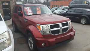 2007 Dodge Nitro 4X4 - POWER SLIDER ROOF  - CERTIFIED/EMISSIONS