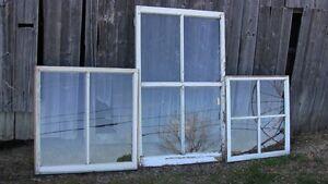 Anciennes fenêtres.....