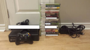 Great Xbox 360 Bundle for Sale/Trade Two Controllers 17 Games!!