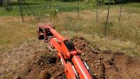 Mini Excavator & Backhoe Services - Property Solutions Niagara