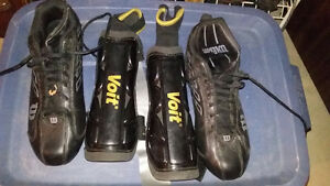 used soccer shoes & shin guards