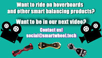 Be in our next video! Ride around on hoverboards!