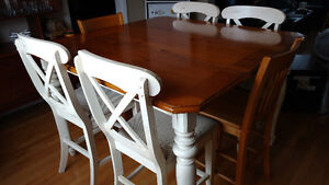 Pub style. Country Kitchen table & chairs