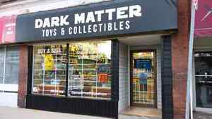 Dark Matter toys and collectibled store.