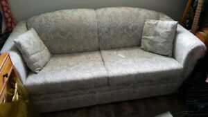 Good condition pull out couch for those extra guests!