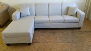 BRAND NEW CANADIAN MADE SECTIONAL WITH CHAISE