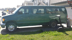 1999 Ford Club Wagon Green Wagon