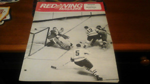 Detroit Red Wings Magazine 1968