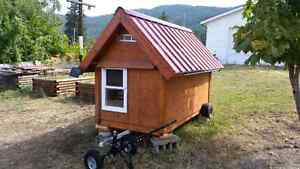 Chicken coop - fully winterized