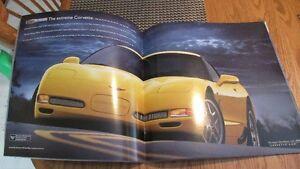 2002 Chevrolet Corvette sales brochure