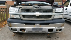 Chevrolet Silverado 1999 - 2007 Front end  and Tail Lights