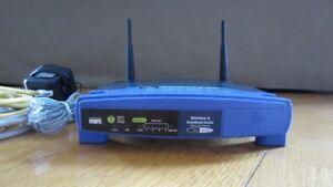 Router sans-fil Linksys Wireless avec 4 ports