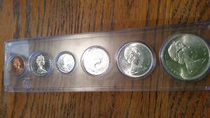 amazing 1967 Centennial silver coin set in hard case only 50$... London Ontario image 5