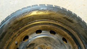 Michelin Pilot Alpin - Performance Winter Tires and Rims Stratford Kitchener Area image 3