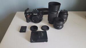 Nikon D5100 + 18-55 mm